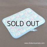 iPad/iPad2/タブレットPCケース: おしゃれ かわいい:リバティ・シマロン・ブルー