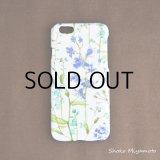 iPhone6 ケース: おしゃれ かわいい:リバティ・セオドラ(ブルー)