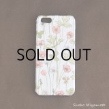 iPhone5/5sケース: おしゃれ かわいい:リバティ・ジョセフィンズ・ガーデン(ピーチ)