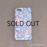 iPhone5/5sケース: おしゃれ かわいい:リバティ・テイタム(ネイビー)