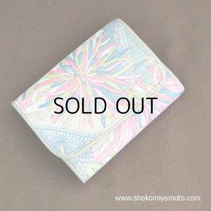 画像1: 洗える三つ折り財布: おしゃれ かわいい:リバティ・ベッキー(ピンク)
