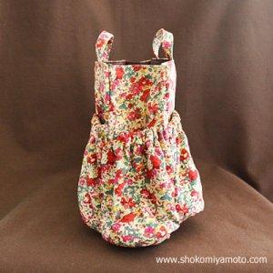 画像3: マザーズバッグインバッグ: おしゃれ かわいい:リバティ・クレアオード(レッド)