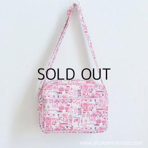 画像5: 通園バッグ: おしゃれ かわいい:リバティ・ フォゲット・ミー・ノット(ピンク)