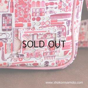画像4: 通園バッグ: おしゃれ かわいい:リバティ・ フォゲット・ミー・ノット(ピンク)