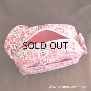 画像2: 通園バッグ: おしゃれ かわいい:リバティ・ フォゲット・ミー・ノット(ピンク)