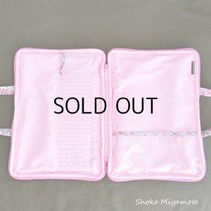 画像2: ぬりえ用バッグ♪: おしゃれ かわいい:リバティ・ペタル&バッド(ピンク)