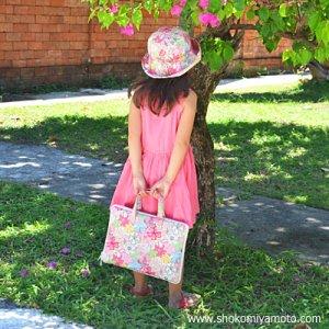 画像5: ぬりえ用バッグ♪: おしゃれ かわいい:リバティ・カーズ(グリーン)
