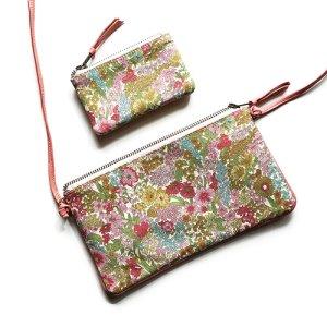 画像5: 【送料無料】小さいお財布 コインケース ミニポーチ リバティ・スモールスザンナ(イエロー) コーティング 本革 おしゃれ かわいい SHOKO MIYAMOTO