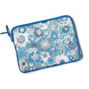 画像1: 【送料無料】iPad ケース iPad mini ケース  リバティ・スモールスザンナ(ブルー)