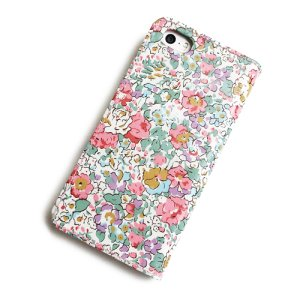 画像3: 【送料無料】iPhone XS Max iPhone8 Plus iPhone7 Plus iPhone6s Plus ケース 手帳型 リバティ クレアオード (ピンク) SHOKO MIYAMOTO おしゃれ かわいい マグネット無しでカード安全 スマホケース アイフォンケース Liberty