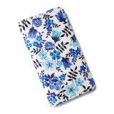 【送料無料】iPhone XR iPhone XS iPhone X ケース手帳型  リバティ エデナム (ブルー) SHOKO MIYAMOTO おしゃれ かわいい マグネット無しでカード安全 スマホケース アイフォンケース Liberty