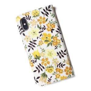 画像3: 【送料無料】iPhone6sケース手帳型 リバティ エデナム(イエロー) ワントーンシリーズ SHOKO MIYAMOTO おしゃれ かわいい マグネット無しでカード安全 スマホケース アイフォンケース Liberty
