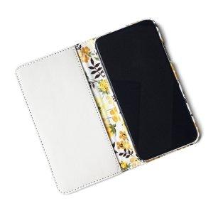 画像2: 【送料無料】iPhone6sケース手帳型 リバティ エデナム(イエロー) ワントーンシリーズ SHOKO MIYAMOTO おしゃれ かわいい マグネット無しでカード安全 スマホケース アイフォンケース Liberty