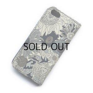 画像3: iPhone6s Plusケース・手帳型: リバティ・スモールスザンナ(グレー)おしゃれ  かわいい iPhone6 Plus, iPhone6s Plus