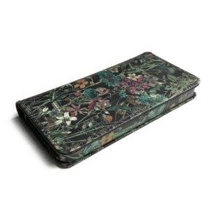 画像4: 【送料無料】iPhone8ケース iPhone7ケース手帳型 リバティ・ワイルドフラワーズ(ダークブラウン)  おしゃれ  かわいい マグネットを使わないのでカード安全  スマホケース アイフォンケース  スマホケース
