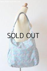 2Wayマザーズバッグ: おしゃれ かわいい:リバティ・シマロン・ブルー